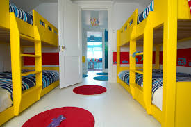 modern kids inspiration for a modern gender neutral kids room remodel in other with white walls bedroomformalbeauteous black white red