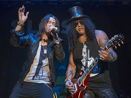 <b>Living the</b> Dream with <b>Slash</b> a wake-up call for fans of hard rock grind