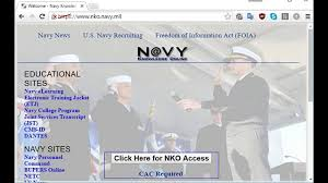 access nko from home and other cac enabled sites access nko from home and other cac enabled sites