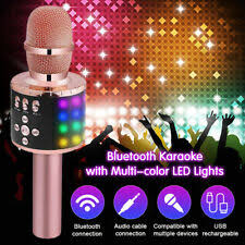 <b>Bluetooth Wireless Karaoke Microphones</b> for sale | eBay