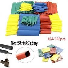 164/328 Pcs 2:1 Polyolefin Heat Shrink Tubing Cable Tube ... - Vova