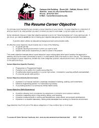 resume examples college resume objective statement template resume examples 22 cover letter template for examples of career goals for resume