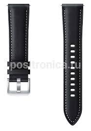 Купить <b>Ремешок Samsung Stitch</b> Leather Band/ черный (ET ...