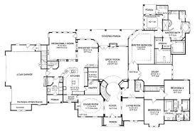 Single Story Bedroom House Plans Single Story House Design    Single Story Bedroom House Plans Bedroom One Story House Plan With Exercise Room