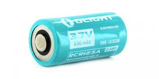 <b>Аккумулятор Olight ORB</b>-<b>163C06</b> 650 mAh