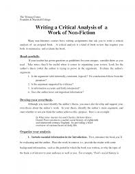 cover letter example critical essay a critical essay example cover letter best photos of sample critical essay analysis paper examplesexample critical essay large size