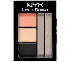 Resultado de imagem para paleta nyx love in florence
