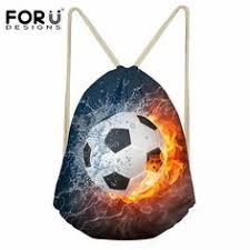 <b>FORUDESIGNS</b> Drawstring Bag Fire Ball <b>3D Prints</b> Men's Small ...