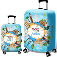 <b>2019 New Design</b> Luggage Bag Cover Protector Elastic <b>Cartoon</b> ...