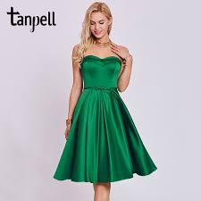 <b>Tanpell sweetheart</b> cocktail <b>dress</b> hunter sleeveless tea length a line ...