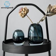 Strongwell Скандинавская Толстая прозрачная <b>стеклянная ваза</b> ...