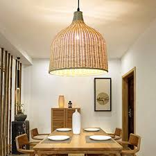 <b>Modern Rattan Pendant Light</b> Lamp Home Room Teahouse ...