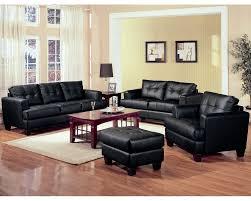 furniture design ideas black leather living room exquisite sofa glass table white carpet hardwood floor black leather living room