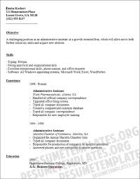 how to write an administrative assistant resumeadministrative assistant resume template