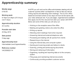 how to write a winning apprenticeship application