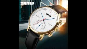 SKMEI 1399 <b>men fashion waterproof</b> quartz watches - YouTube