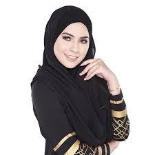 <b>Women's</b> Cotton Comfortable <b>Muslim Islamic</b> Ramadan Hijab Long ...