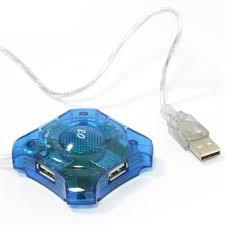 <b>USB</b>-<b>хаб</b> 4 порта KB-264 прозрачный