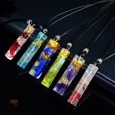 AURA REIKI <b>Orgonite</b> Energy <b>Pendant</b> Transfer <b>Natural Crystal</b> ...