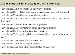 top company secretary cover letter samples 12 useful materials for company secretary