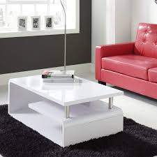 Tiffany White <b>High Gloss Coffee</b> Table - Artemis Range - Buy Online ...