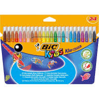 Отзывы о <b>Цветные фломастеры BIC</b> Kid Couleur 24 цвета