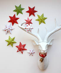 paper christmas decorations to make this easy folded paper 5 and 6 point stars and snowflakes