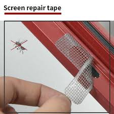 <b>5pcs</b>/<b>set</b> Fix Net Mesh <b>Window</b> Home Adhesive Anti Mosquito Fly ...