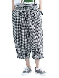 loose <b>women</b> hallen pants casual <b>korean style cotton</b> pants at ...