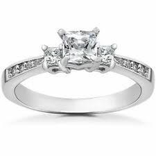 <b>Кольцо Принцессы</b> Белое золото 5.5 бриллиант обручальные ...