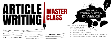 Article Writing Master Class