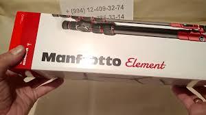 <b>Штатив Manfrotto Element</b> Traveller Small Black (MKELES5BK-BH ...