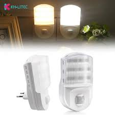 Super Bright Plug In Pir Motion Sensor <b>Led</b> Night Light Sensor ...