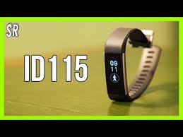 Smart Band TrackFit - <b>ID 115 Plus 0.96</b> - Test - YouTube