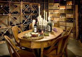 interesting wine cellar arched table top wine cellar furniture