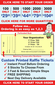 custom raffle tickets are our specialty raffleticket com follow me ordering is as easy as 1 2 3