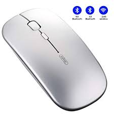 Buy Bluetooth Mouse, Inphic Tri-Mode Slim Silent ... - Amazon.in