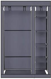 Guxing 67'' <b>Portable Clothes</b> Closet Wardrobe with <b>Non</b>-<b>Woven</b> ...