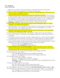 essay about arts essay structure for arts students   slideshare