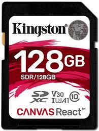 <b>Карта памяти 128GB</b> Kingston SDR/128GB купить в Москве, цена ...