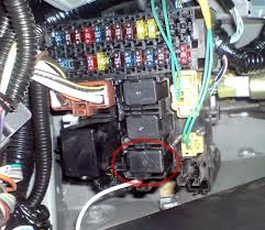 defroster relay fuse pics please help s2ki honda s2000 forums got a defroster relay put it in the fuse box by the clutch pedal in the spot indicated in the pic below
