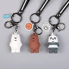 New <b>Cartoon Anime</b> We Bare <b>Bears Cute</b> Three Animal <b>Bears</b> Doll ...