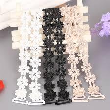 2019 <b>Women Bra Accessories Crochet</b> Floral Lace Bra Strap Anti ...