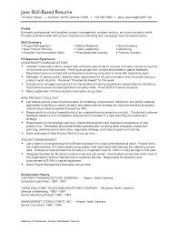 examples of skills resumes template examples of skills resumes