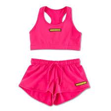 <b>No Photos Please</b> Pink Sports Set – Kylie Jenner Shop