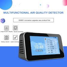 ZXY <b>Air</b> Quality <b>Monitor Indoor</b> Formaldehyde HCHO <b>Detector</b> PM2 ...