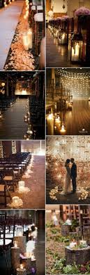 beautiful wedding ceremony aisle decoration ideas with candle lights candle lighting ideas