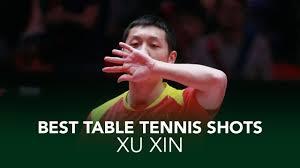 Insane Table Tennis Shots from Xu <b>Xin</b> - YouTube