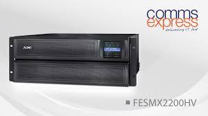 <b>APC SMX2200HV Smart</b>-<b>UPS X</b> 2200VA - YouTube