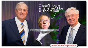 The Koch Brothers will cut off all our heads if we don't SEND! MONEY! NOW!